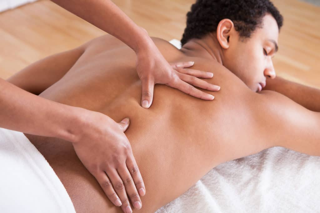 Deep Tissue Massage Gould's Salon Spa