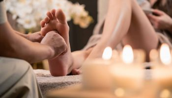 Foot Reflexology Therapy Gift Card at Gould's Salon Spa